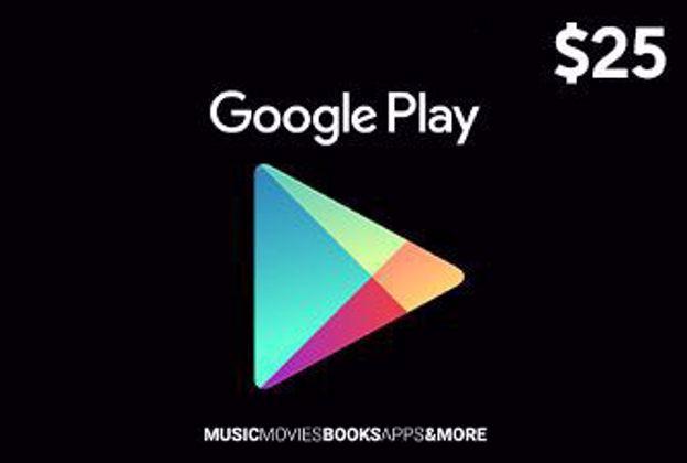25 دلاری Google play