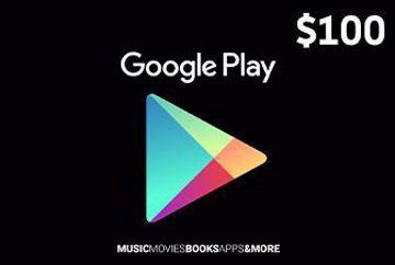 100 دلاری Google play